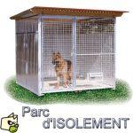 Chenil d'isolement pour chien